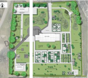 Kirkegård plan
